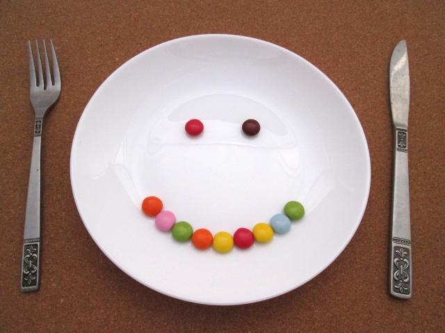 笑顔のお皿