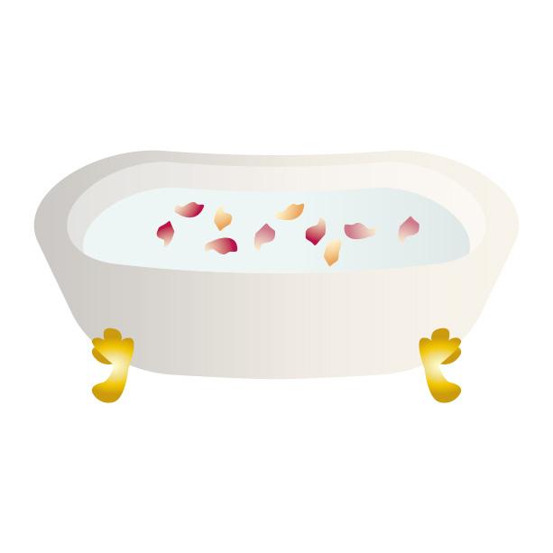 お風呂イラスト