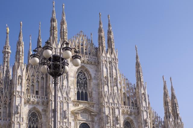 ミラノの建物