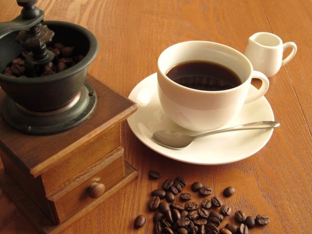 コーヒーとコーヒーマシン