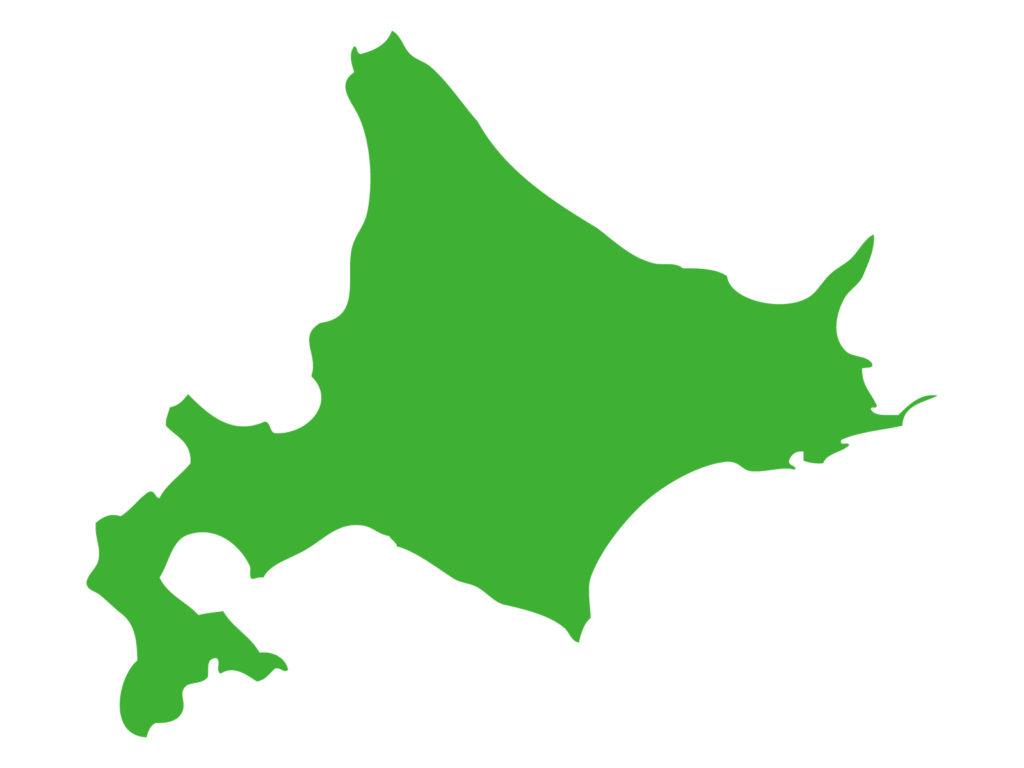 北海道シルエット
