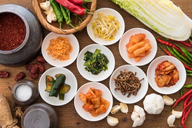 韓国料理小鉢
