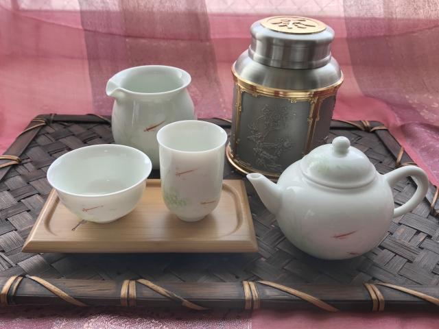 中国茶と茶器
