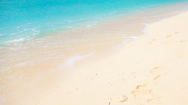 久米島のきれいな海