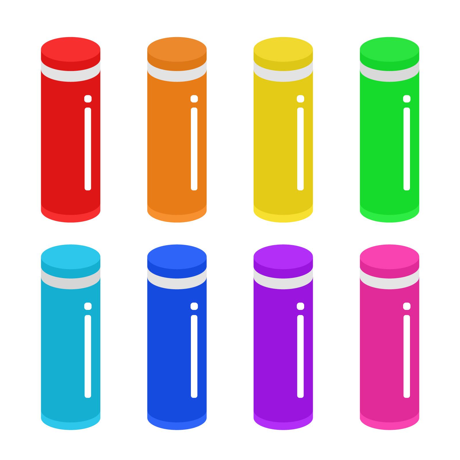 水筒ボトルイラスト