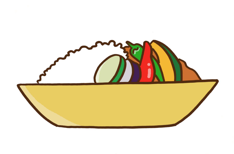 野菜カレーイラスト