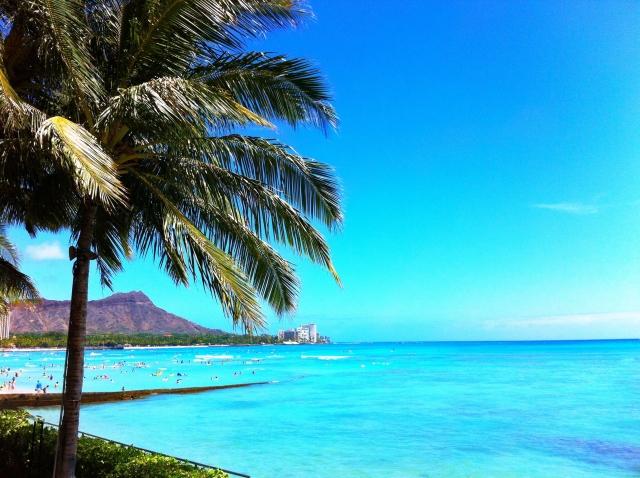 ハワイ海の風景