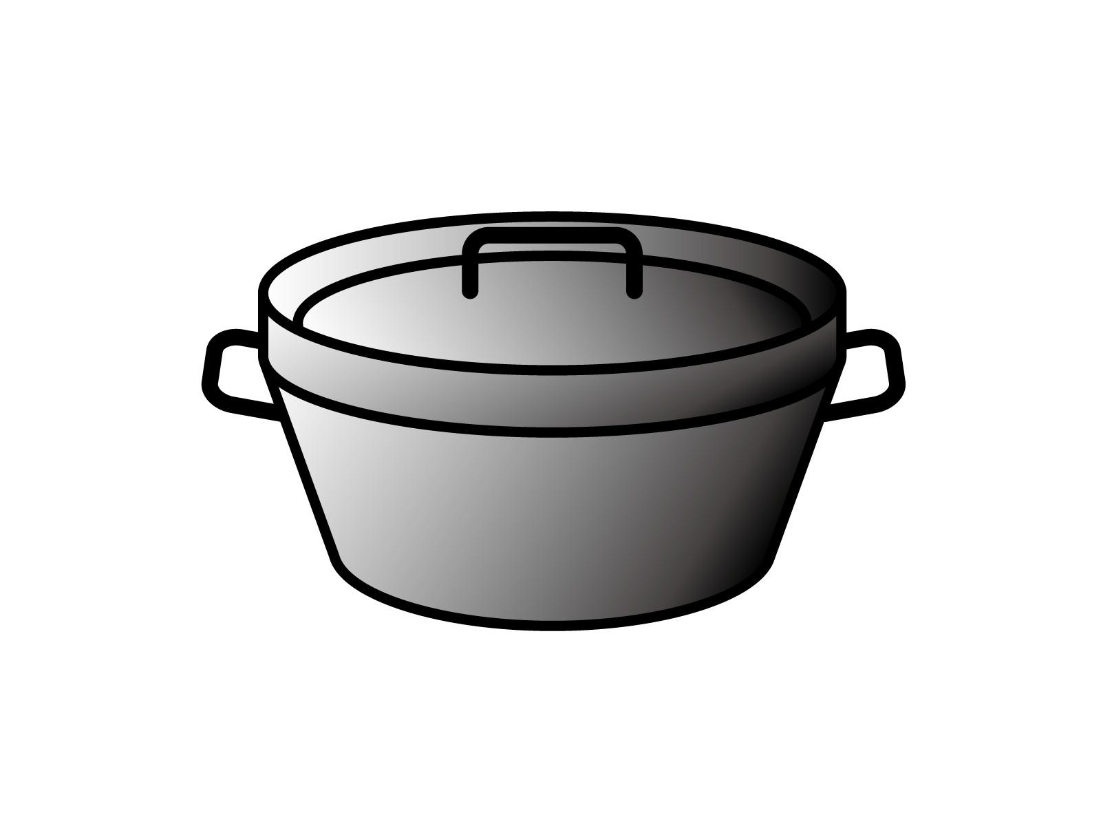 ダッチオーブンイラスト