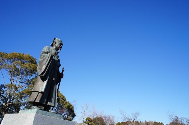 水戸黄門銅像