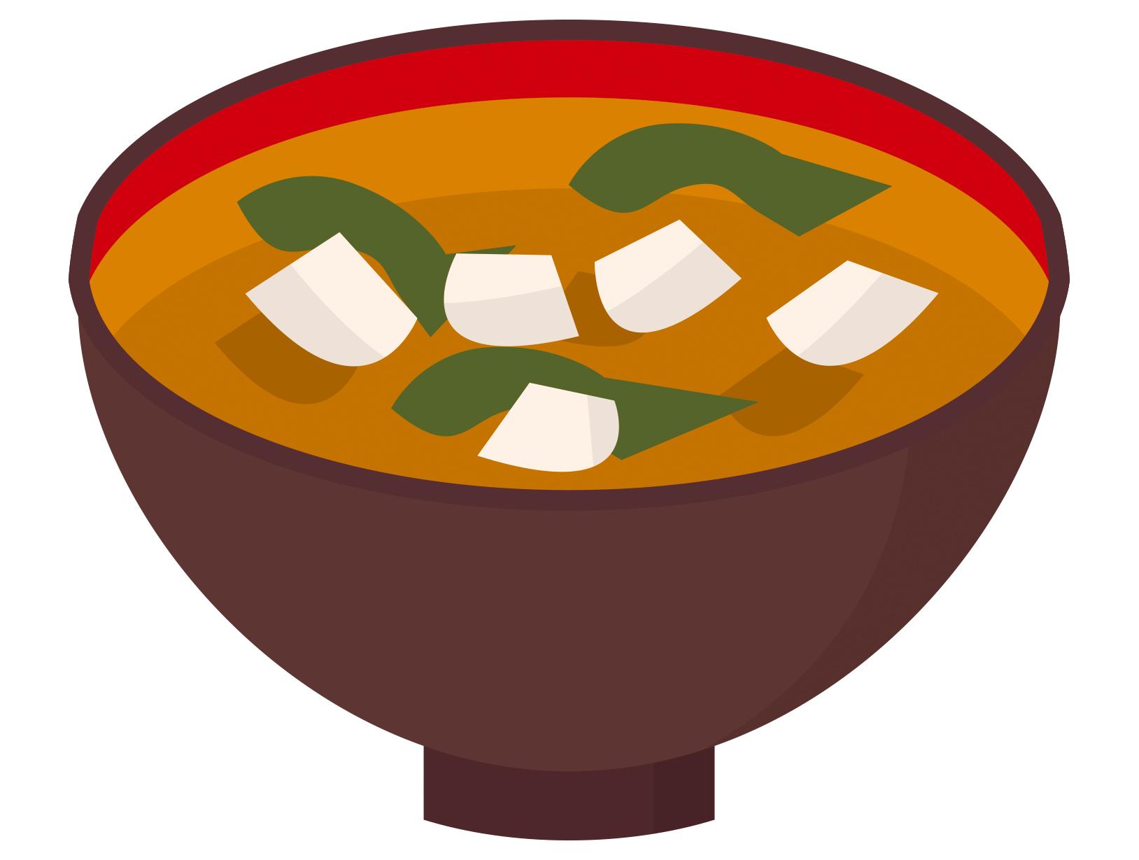 味噌汁イラスト