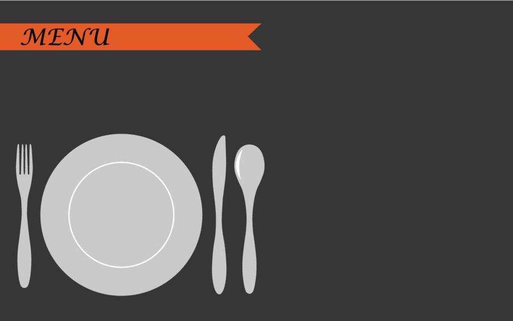 皿とスプーンとフォーク