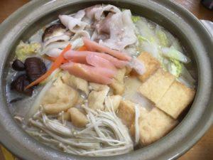 煮込んだ生姜鍋