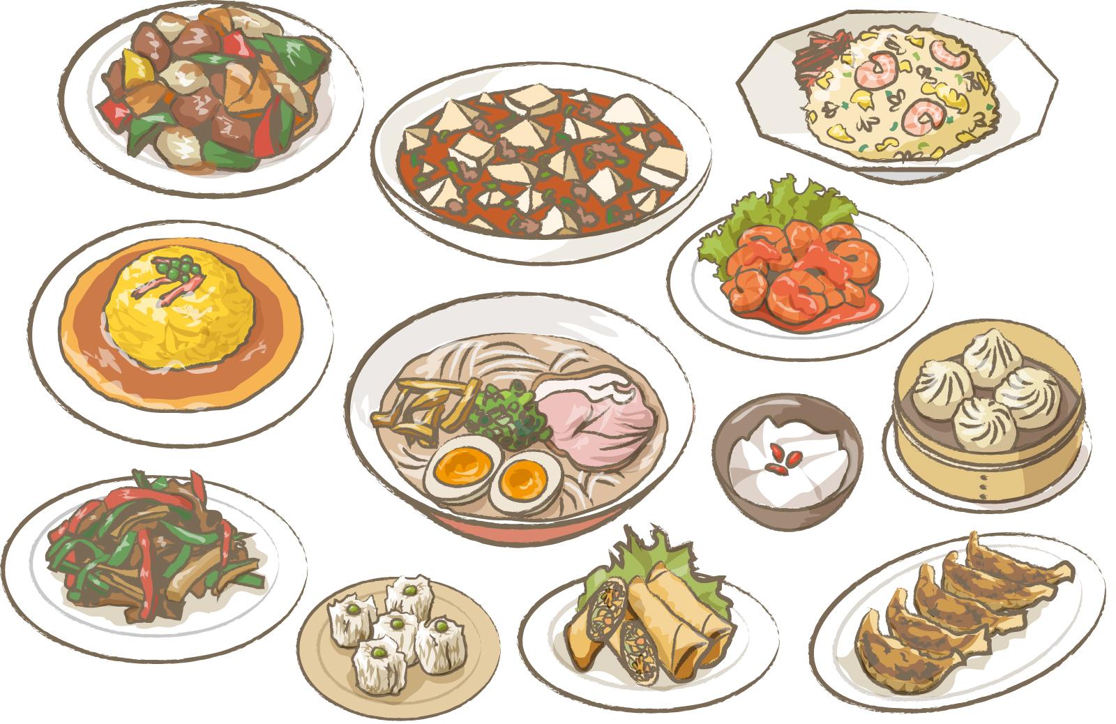 中華料理イラスト