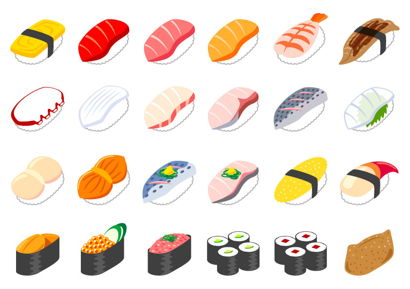 寿司イラスト