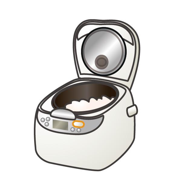 炊飯器イラスト