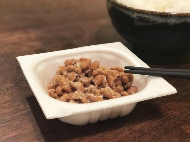 パックの納豆