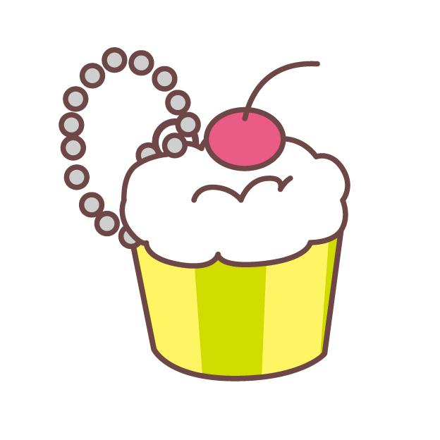 スクイーズのケーキのイラスト
