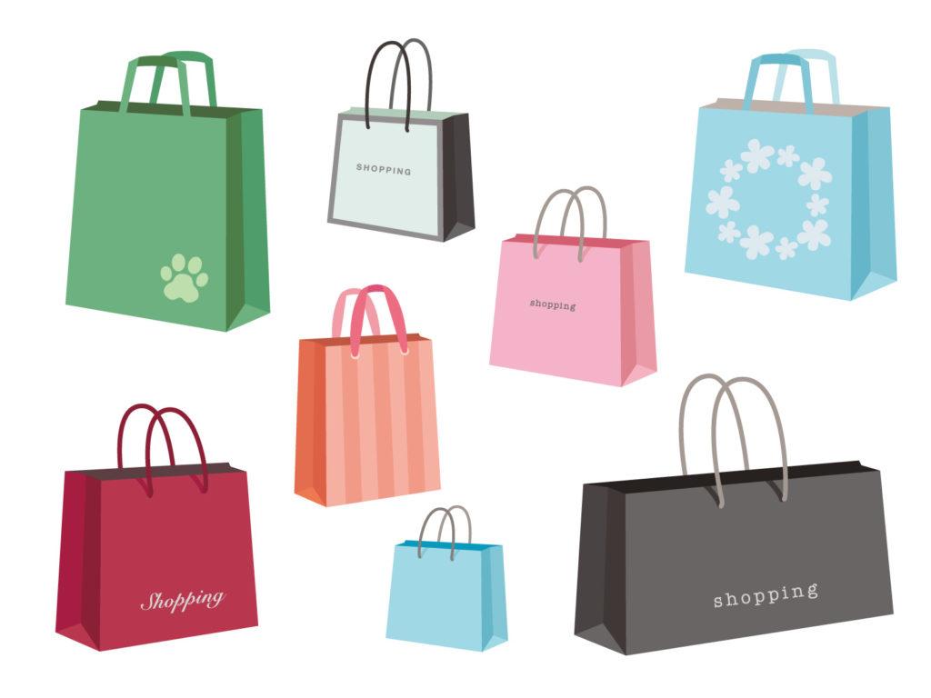 買い物ショッピングバック