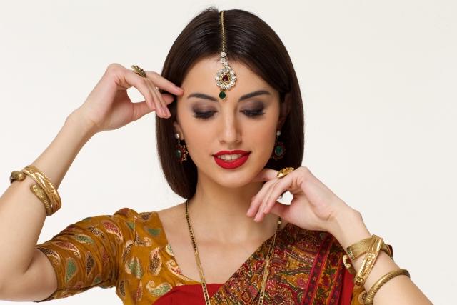 インド人女性