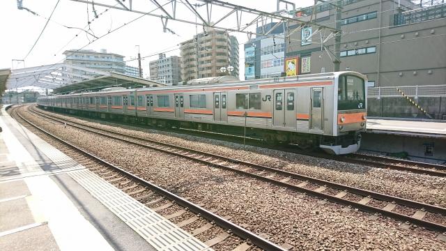 武蔵野線電車
