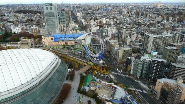 東京ドーム周辺