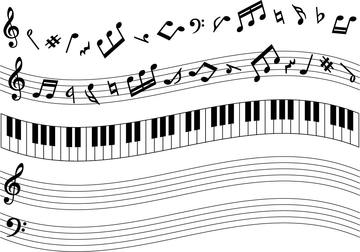 楽譜イラスト