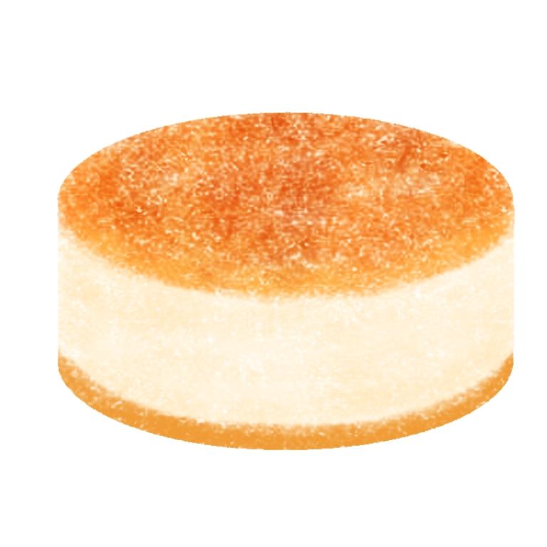 チーズケーキイラスト