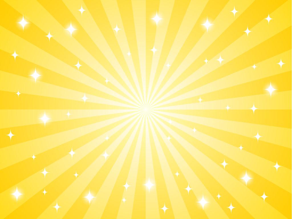黄色注目明るいイメージ