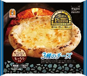 窯焼きピッツァ3種のチーズ