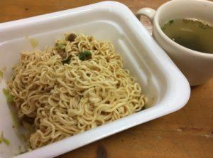 バゴーンとわかめスープ