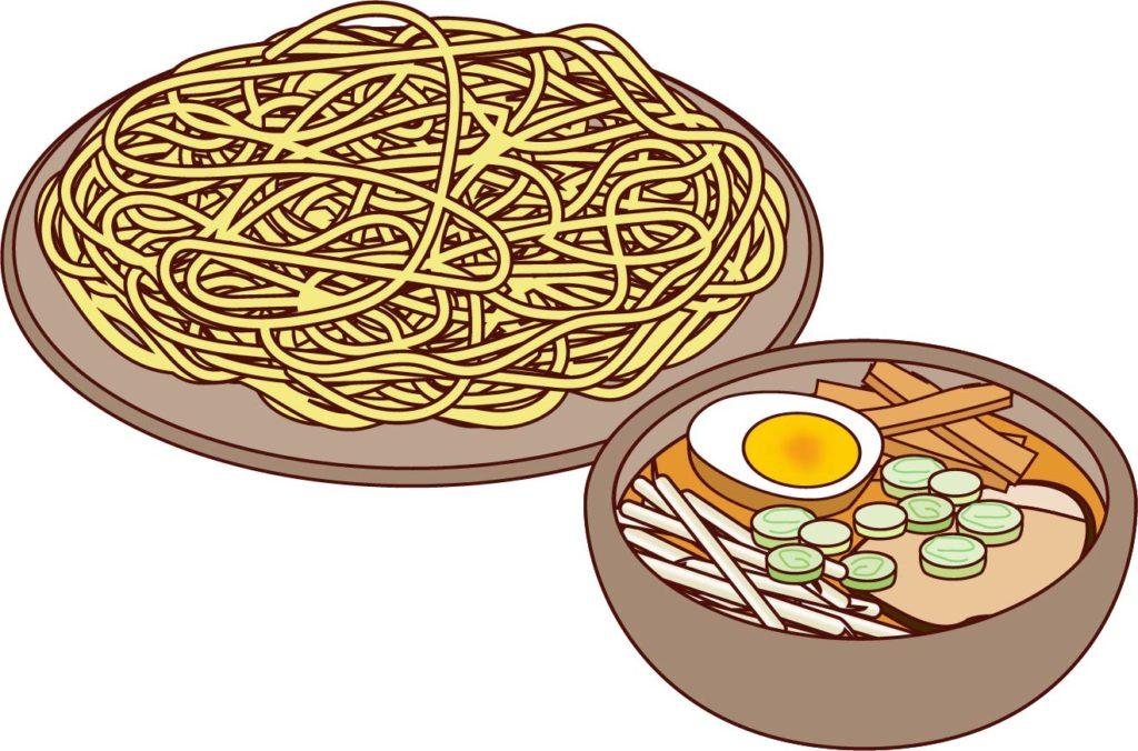 つけ麺イラスト