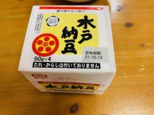 オーケー水戸納豆